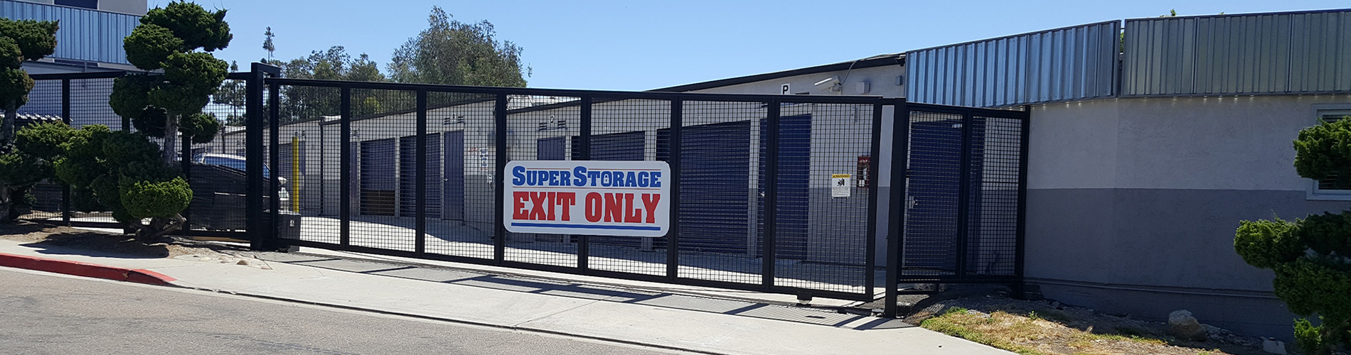 SuperStorage San Diego Sign