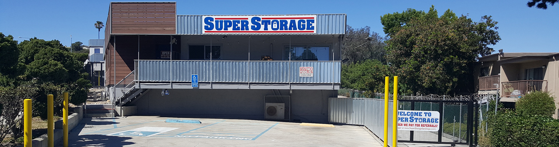 Rent your self storage today